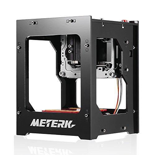 Meterk DK-BL 1500mW Mini fai da te Laser Macchina per incidere Senza fili Bluetooth Stampa incisore Bluetooth 4.0 per iOS / Android di Collegamento USB per PC Rapid Velocità