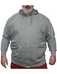 VANDAM 8803 Sweat à capuche Melange- Grandes Tailles - Hommes 3XL-10XL