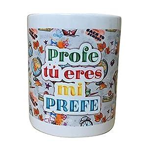 ARTEMODEL Taza profe prefe, Multicolor (1)