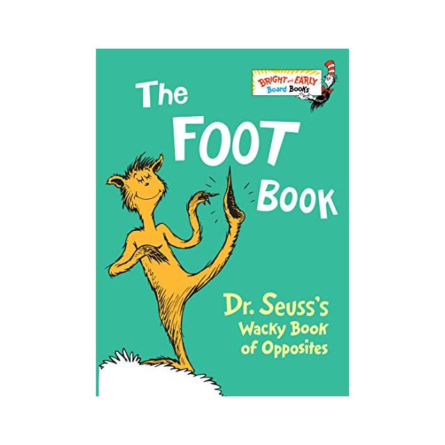 fox in socks dr seusss book of tongue tanglers bright early board books tm
