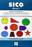 Sico Nivel 1 - Cuad Trabajo Para Alumnos Con Altas Capacidades Intelectuales (Fichas Infantil Y Primaria) - 9788478699889