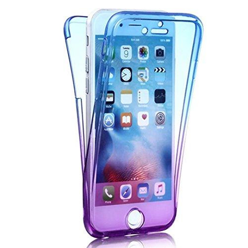 iPhone X 360 Grad Hülle, iPhone X Hülle Glitzer, Ultra Dünn Liquid Crystal Glänzende Soft-Flex Handyhülle Bumper Style Premium TPU Silikon Perfekte Passform Schutzhülle iPhone X (5,8 zoll) Case Cover  Farbe 10