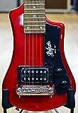 Hofner HCT Shorty Guitar - Red