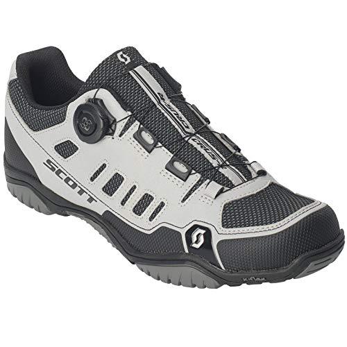 Scott Sport Crus-r Boa MTB Trekking Fahrrad Schuhe Reflective grau/schwarz 2019: Größe: 43