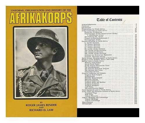 Uniforms, Organization, and History of the Afrikakorps