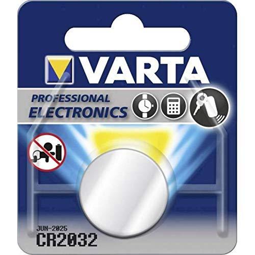 Varta CR2032 Lithium Knopfzelle, 1er Pack Lithium Blister Pack