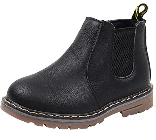 DADAWEN Mixte Enfant/Garçon/Fille/Bébé Waterproof Neige Boots/Bottine