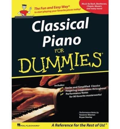 [(Classical Piano Music for Dummies )] [Author: Susanne Sheston] [Feb-2008]