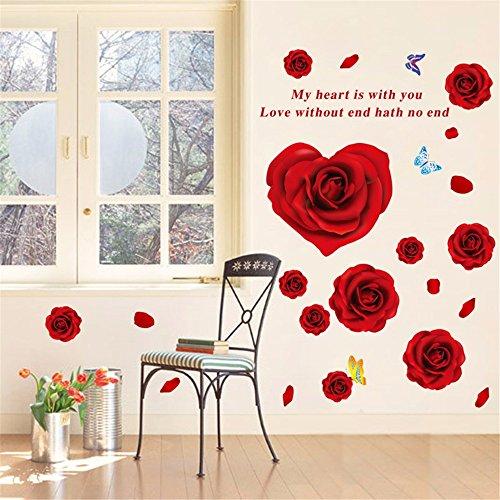 jaysk-rose-fiore-adesivi-murali-adesivi-murali-smontabili-adesivi-murali-camera-da-letto-autoadesivi