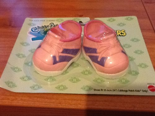 cabbage-patch-kids-shoes-pink-sneakers-for-14-inch-soft-doll-cpk-new