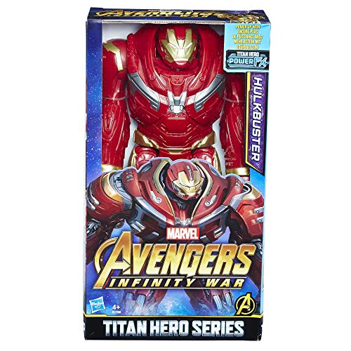 8EU4 Marvel Titan Hero Power FX Hulk Buster, Actionfigur ()