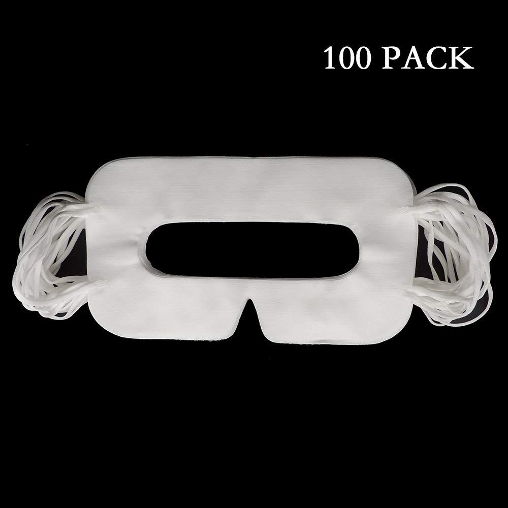 100 PACK, Masque facial d'hygiène jetable pour les yeux VR Pour HTC VIVE VR, VIVE PRO, Pour PS4 VR Playstation VR Pour Oculus Rift / GO Pour Microsoft MR – Nes design