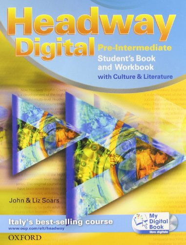 Headway digital. Pre-intermediate. Student's book-Workbook with key-My digital book. Con espansione online. Per le Scuole superiori. Con CD-ROM