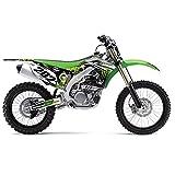 LÉGER Vert MX Motocross KIT DÉCALQUE pour Kawasaki KXF 450 2013-2014