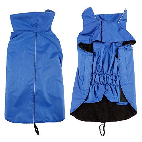 Hoodie Hund Regenmantel Haustier Regenmantel Regenjacke Hunderegenmantel Wasserdicht Kleidung pet dog Raincoat L