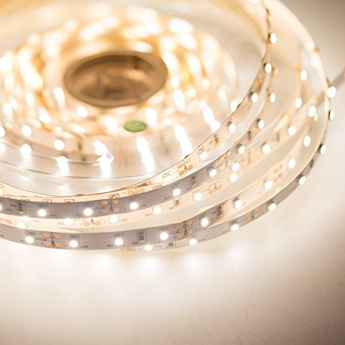 Mextronic LED tiras LED banda tira LED 3528blanco neutro (4000K) 24W 500cm 12V IP20