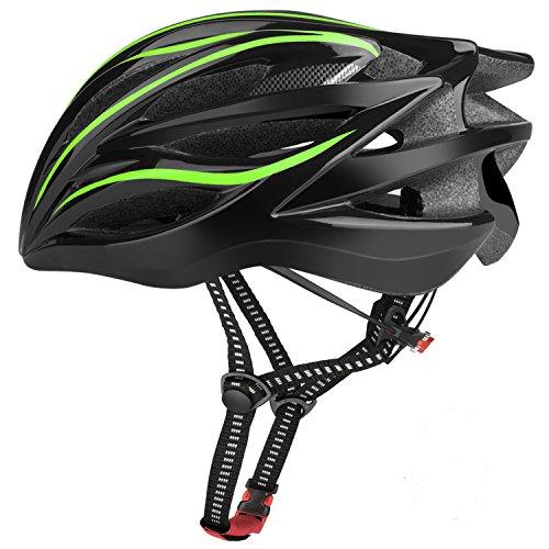 Six Foxes Fahrradhelm 2018 Specialized Damen Herren Fahrrad Helm, 55-63 cm (Gelbgrün)