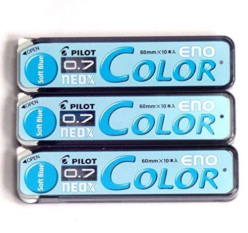 Pilot Farbe Druckbleistift Blei Eno, 0,7mm, weiche Blau, 10× 3Pack/Insgesamt 30Führt...