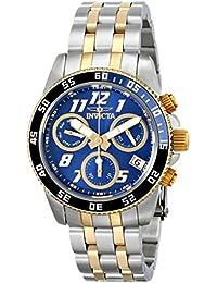 INVICTA 15507 - Reloj de cuarzo para mujer, correa de acero inoxidable color plateado