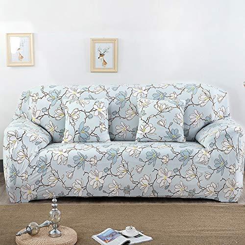 BAIF Universalgröße 1/2/3/4 Sitzer Sofabezug Stretch Elastic Sitzbezüge Loveseat Kissen Funiture Home Hochzeiten Dekoration (90-300cm), 5807,4 Sitzer 230-300cm -