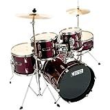 Sonix Junior Drum Kit - Wine Red