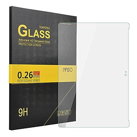 IVSO Prime Protecteur d'Ecran en Verre Trempé pour Asus Zenpad 10 Z300M Tablette (Tempered Glass - 1 Pack)