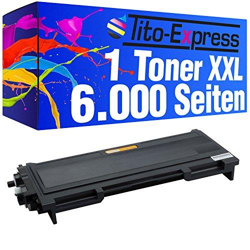 Preisvergleich Produktbild PlatinumSerie® 1x Laser-Toner Mega XXL Schwarz kompatibel für Brother TN2000 HL-2020 HL-2030 HL-2032 HL-2040 HL-2050 HL-2070