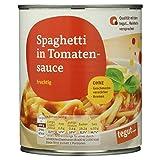 Tegut Spaghetti in Tomatensauce, 800 g