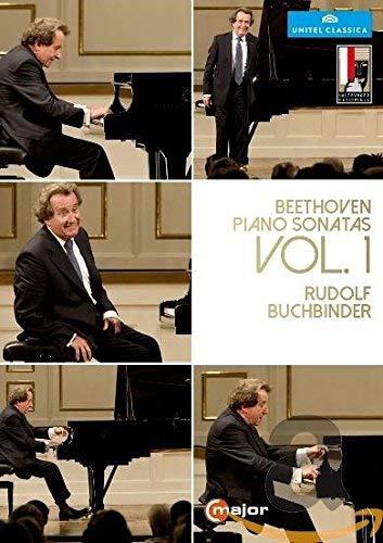 Preisvergleich Produktbild Beethoven:Piano Sonatas 1 [Rudolf Buchbinder] [C MAJOR ENTERTAINMENT: DVD]