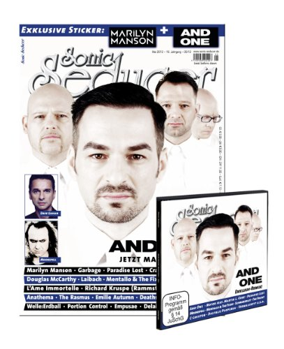 Sonic Seducer 05-12 mit CD im Digisleeve + And-One-Titelstory + 2 exkl. Marilyn Manson- und And One-Sticker, Bands: Laibach, Moonspell, Oomph!, Nightwish u.v.m.