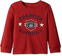The Childrens Place Boys Thermal Top (20663691027_Classic Red_4 Years)