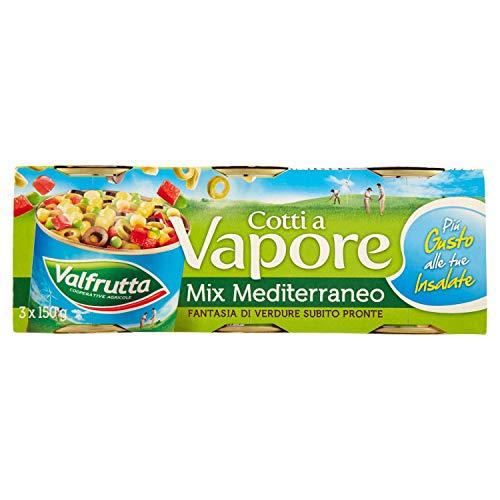 Valfrutta Mix Mediterraneo Vegetali Misti Sottovuoto 450 g