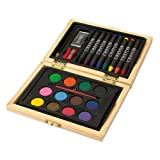 Mini Mal di set Creative Colors in valigetta di legno di switch.