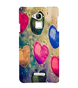 Cute hearts pattern Back Case Cover for Coolpad Note 3