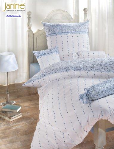 Janine Design Bettwäsche Chinchilla S Nackenrollenbezug Ranke 15x40 cm (Chinchilla Bettwäsche)