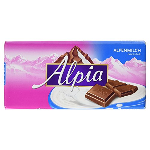 Alpia Schokolade Alpenvollmilch, 100g