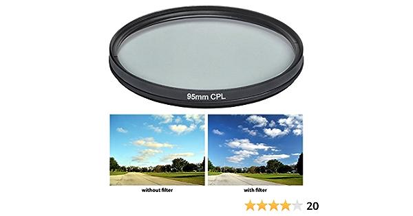 Power Up 95mm Polfilter Zirkular Cpl Filter Für Tamron Kamera