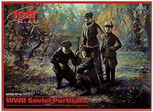 ICM 35631-1/35WWII Soviética ische partidista plástico Maqueta de