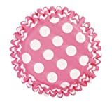Culpitt Cupcakes Papierbackform , POLKA DOTS Pink