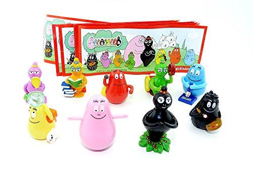 Preisvergleich Produktbild BARBAPAPA Figuren aus dem Ü-Ei. Barbapapa Kultfiguren der 70er Jahre