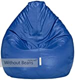 #5: Stylecraft Bean Bags Cover Without Beans - XXL Size - Blue - Without Beans