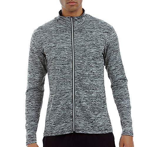 Celucke Sport Funktionsshirt Herren Langarm Kompressionsshirt, Unterhemden Männer Kompression Compression Shirt Laufshirt