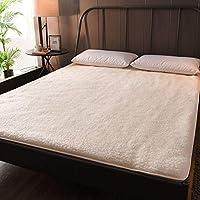 Felpa Gruesas Colchón de futón Futón Tatami Estera el Dormir, Plegable Acolchado Cubre colchón Tatami