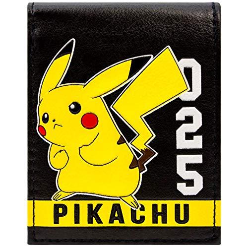 Kostüm Videospiel Pikachu Pokemon - Pokemon Pikachu 025 White Stripe Gelb Portemonnaie Geldbörse