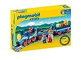 Playmobil 1.2.3 Tren con Vías 6880