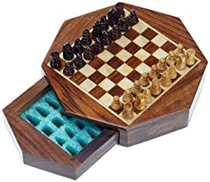 Philos-Spiele - Juego Completo de ajedrez, 2 Jugadores Importado de Alemania