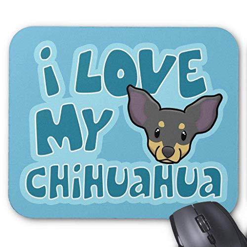 My Black & Tan Chihuahua Mauspads ()