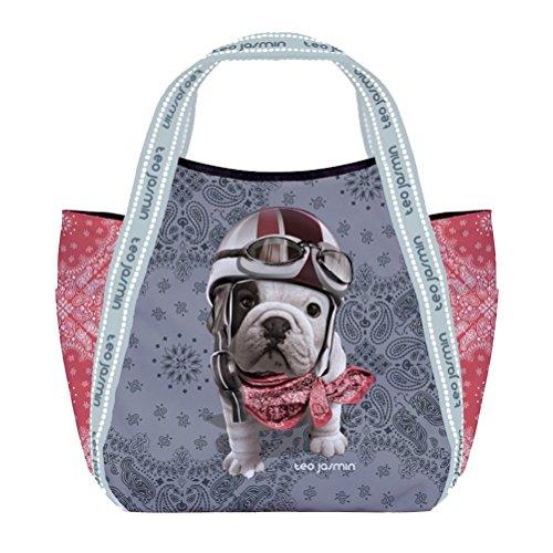 Petit sac shopping Téo Jasmin