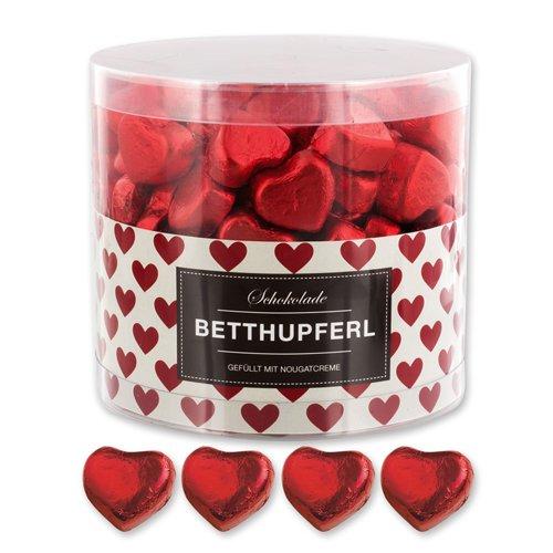 Herzen Schokolade Dunkle Mit Roten (150 Rote Schokoladenherzen Linz)