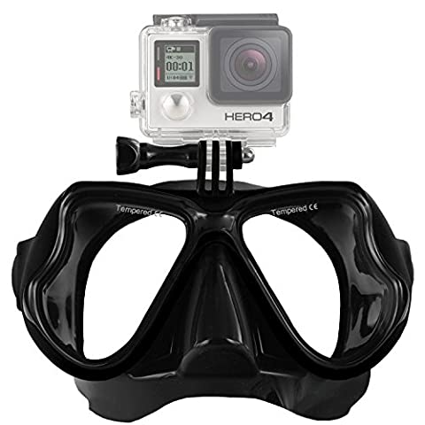 Aokon GoPro hero4 Hero3/Hero3 +/3 SJ Session mutli-function Dive Maske